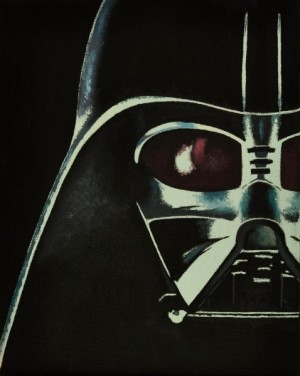 Darth_Vader_Painting_by_golfiscool