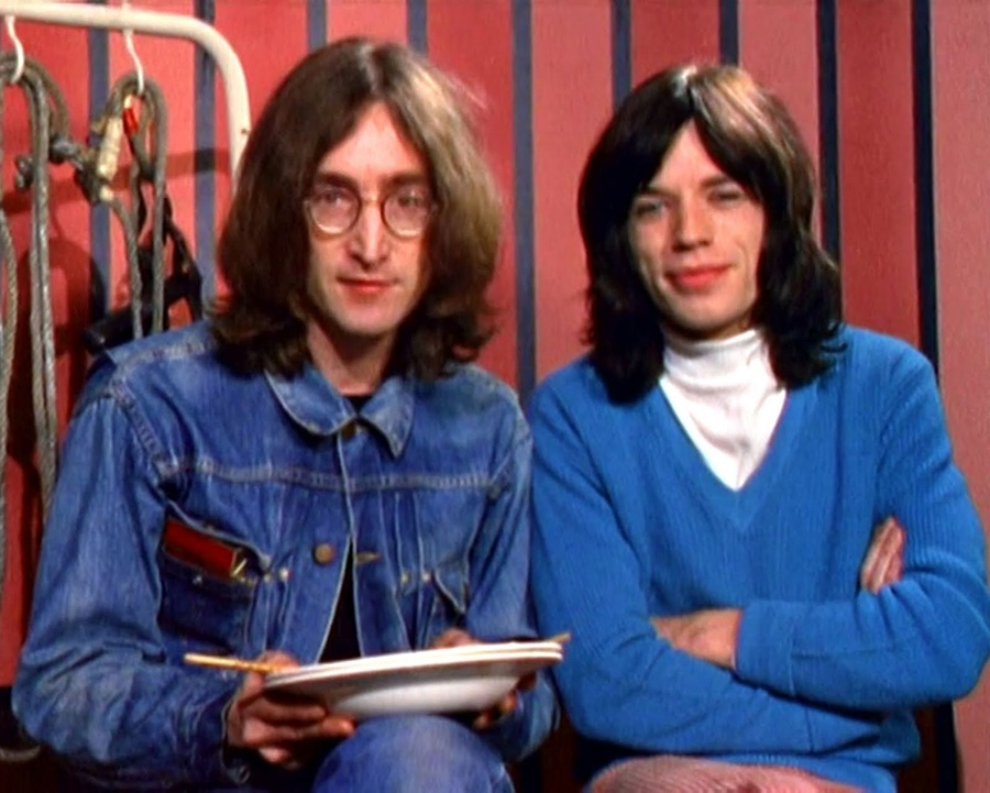 147John-Lennon-and-Mick-Jagger-Rock-and-Roll-Cirucus-9